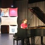 La pianiste Félécia
