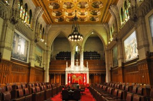 empty senate of canada