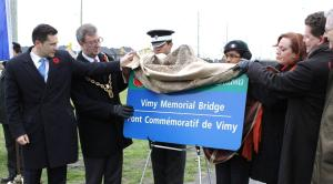 Poilievre - Vimy Memorial Bridge  (4)