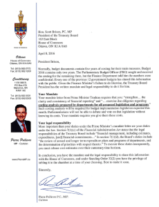 Letter to Brison