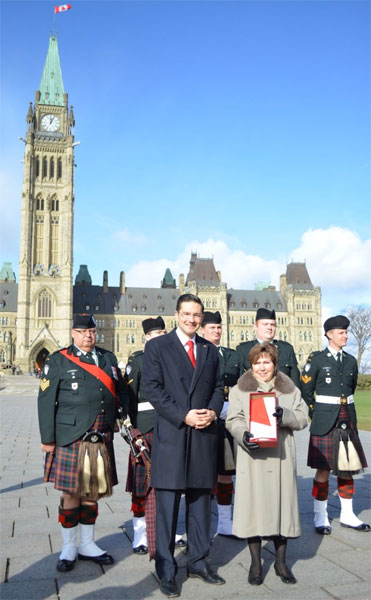 pierre-with-joan-in-front-of-parliament-buildings-with-the-choo
