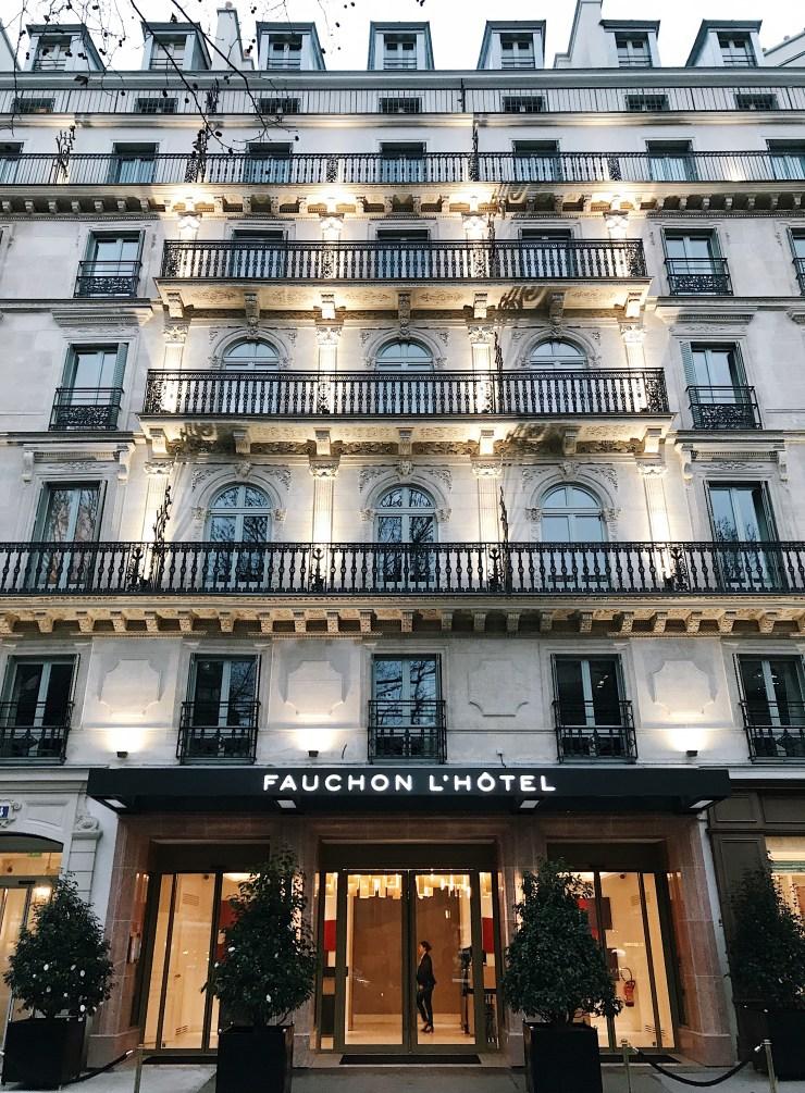 Façade Hotel Fauchon