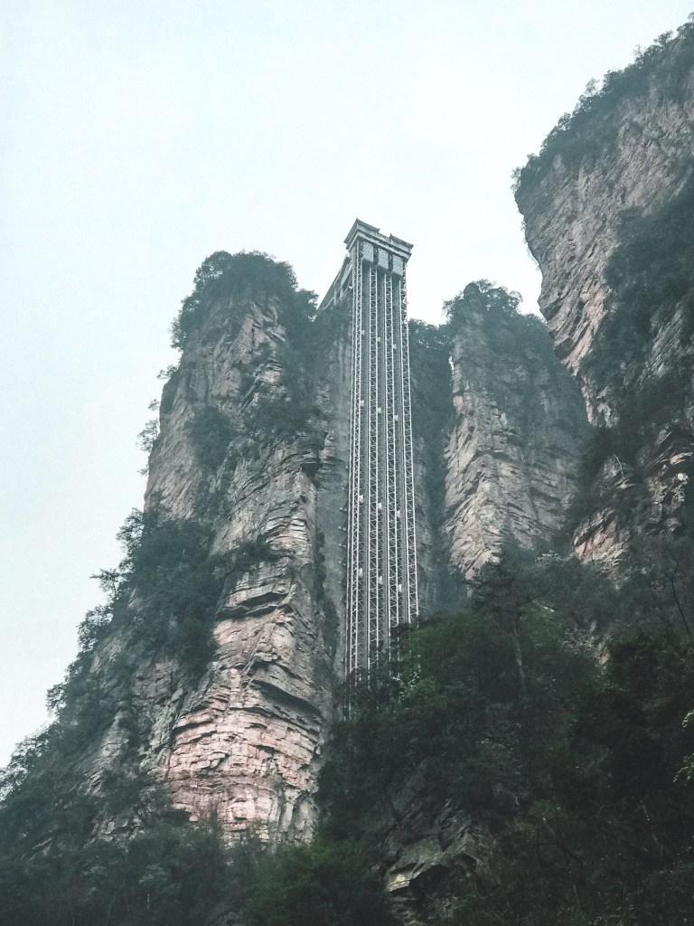 elevator zhangjiajie