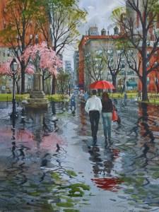 Il pleut sur Washigton square 1