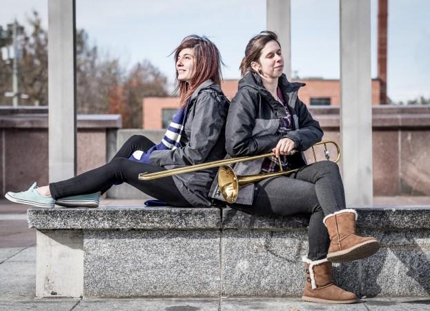 Andrée-Ann et Tahlia