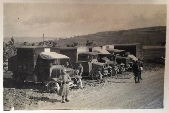 Le train des camions