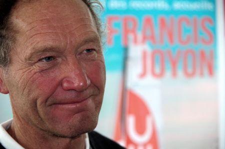 Francis Joyon à Brest