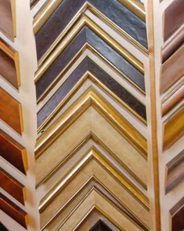 Various solid wood frames