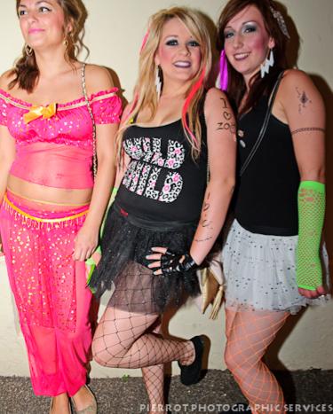 Cromer carnival fancy dress 3 pretty girls