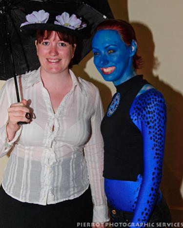 Cromer carnival fancy dress Mrs Poppins and avitar