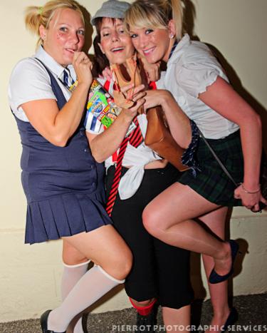Cromer carnival fancy dress more schoolgirls