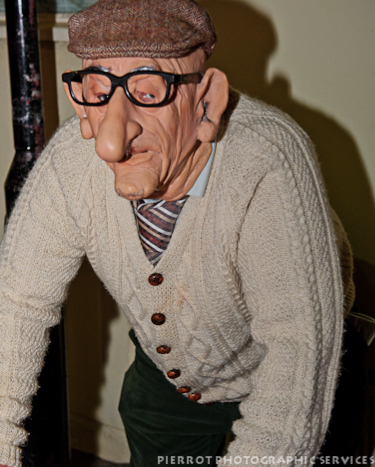 Cromer carnival fancy dress old plastic man