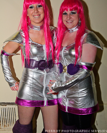 Cromer carnival fancy dress plantinum women