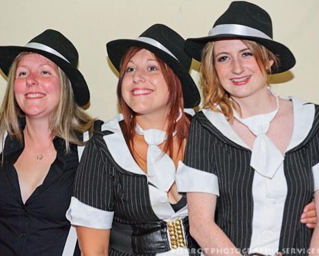 Cromer carnival fancy dress pretty gangster molls