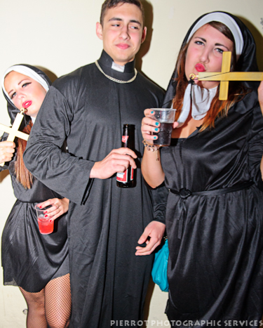 Cromer carnival fancy dress priest and nuns