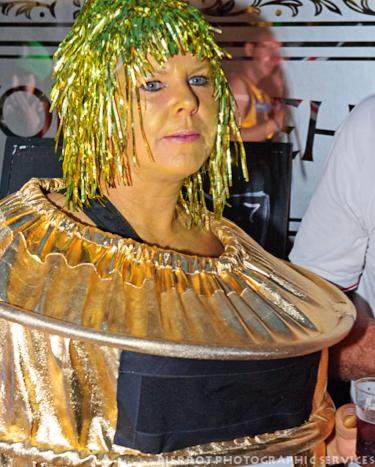 Cromer carnival fancy dress olympic golden post box