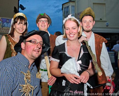 Cromer carnival fancy dress pirates