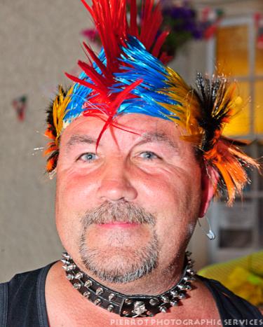 Cromer carnival fancy dress punk rocker