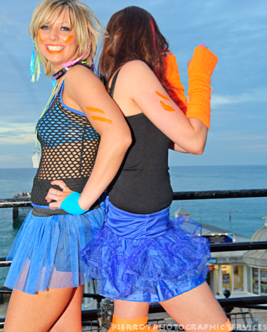 cromer carnival fancy dress two cheeky girls