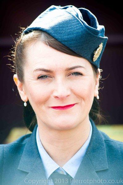 Pretty RAF girl