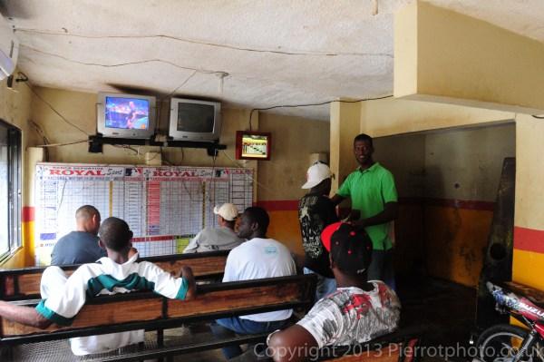 Gambling den in Samana Dominican Republic