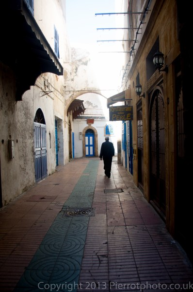 In the medina in Essaouira, Morocco