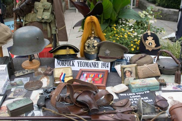 Collection of First World War-related items