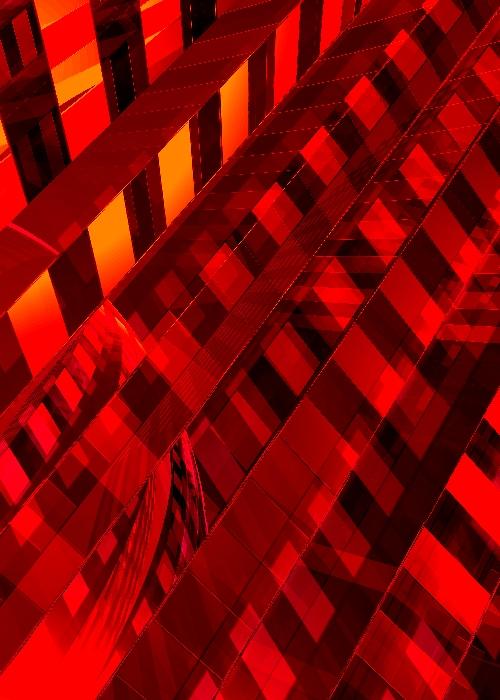 Brutal Past Revisited 01 - digital artwork by Piers Bishop