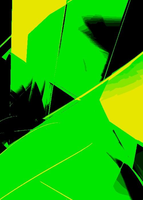 Lazer Cut 02 - digital art by Piers Bishop