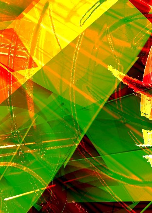 Ripples 01 a digital image by Piers Bishop