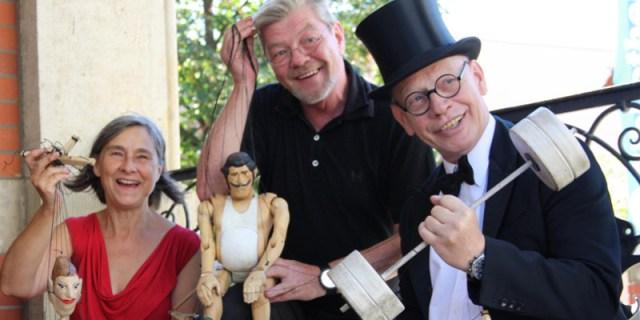August Theater Randi und Grigorij Kästner Kubsch und Ralf Herzog
