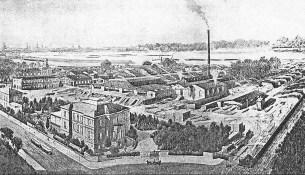 Grumbt Sägewerk 1910