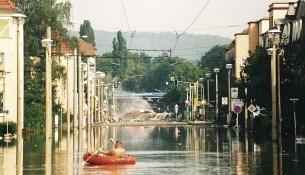 Hochwasser trachau