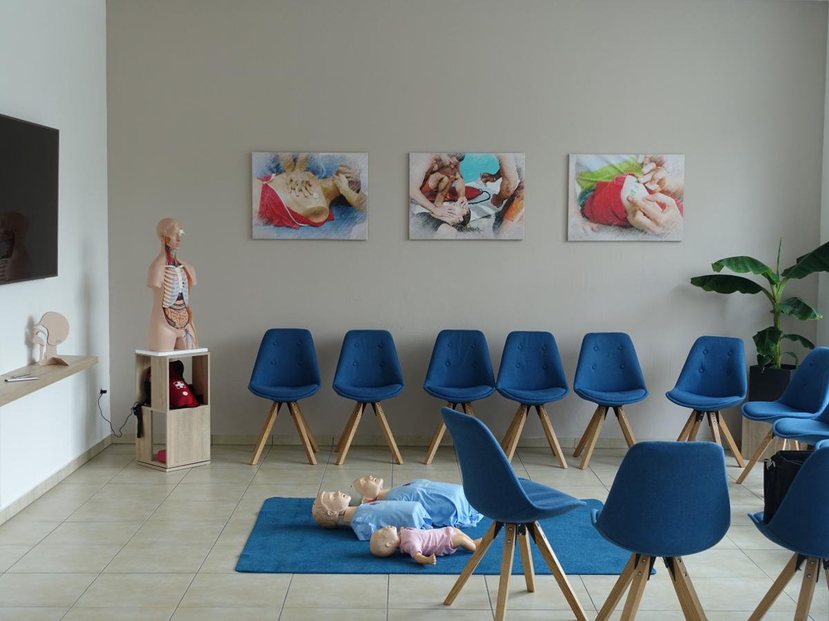 Erste Hilfe Schule Dresden seminarraum