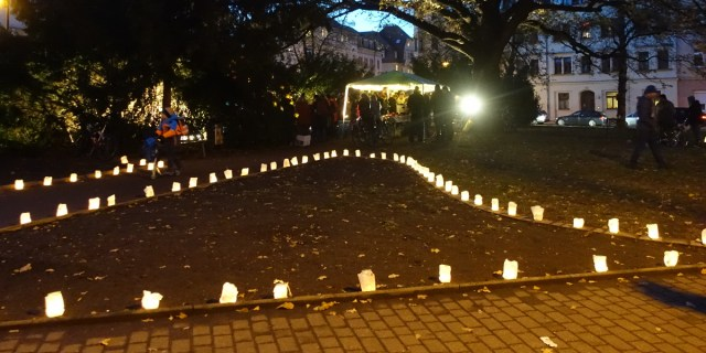 Lichterfest Leisniger Platz Lichter