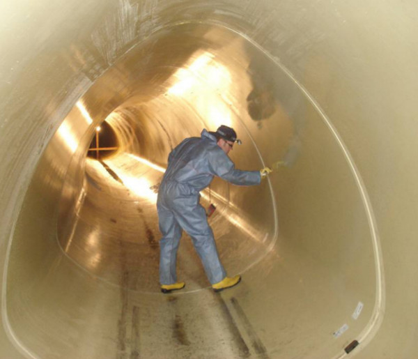 Stadtentwässerung Abwasserkanal Prüfung