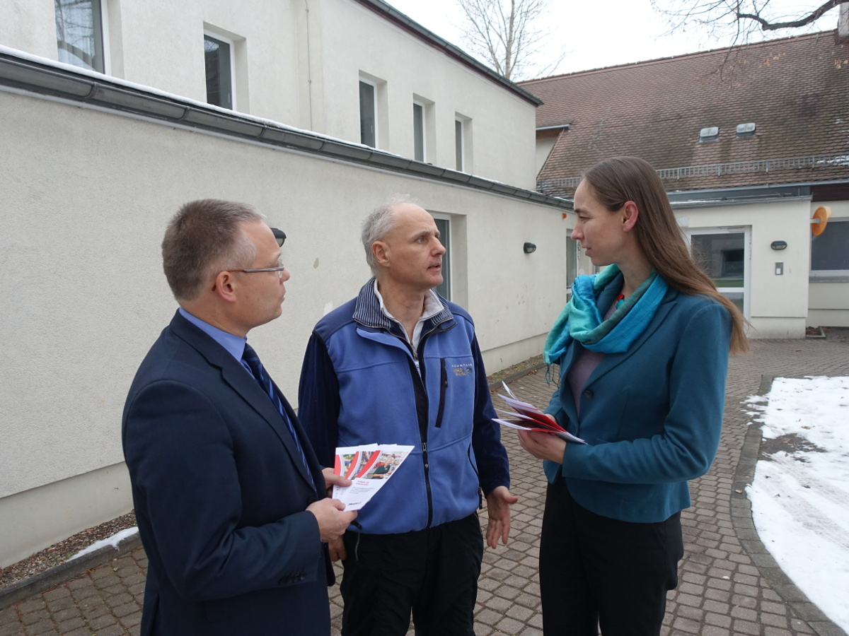 Übergangsheim Hubertusstraße Kaufmann Pratzka Zuleger