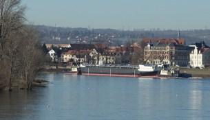 Schiff Rohbau Elbe