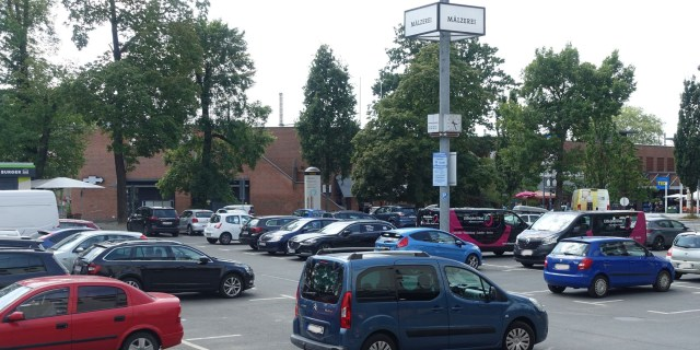 Lagerbox Alte Mälzerei Parkplatz