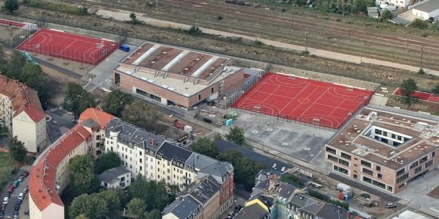 Schulcampus Gehestrasse Sportplätze