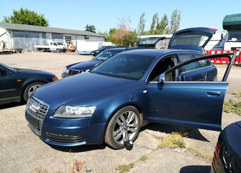 Einbruch Gruenes Gewoelbe Audi S6