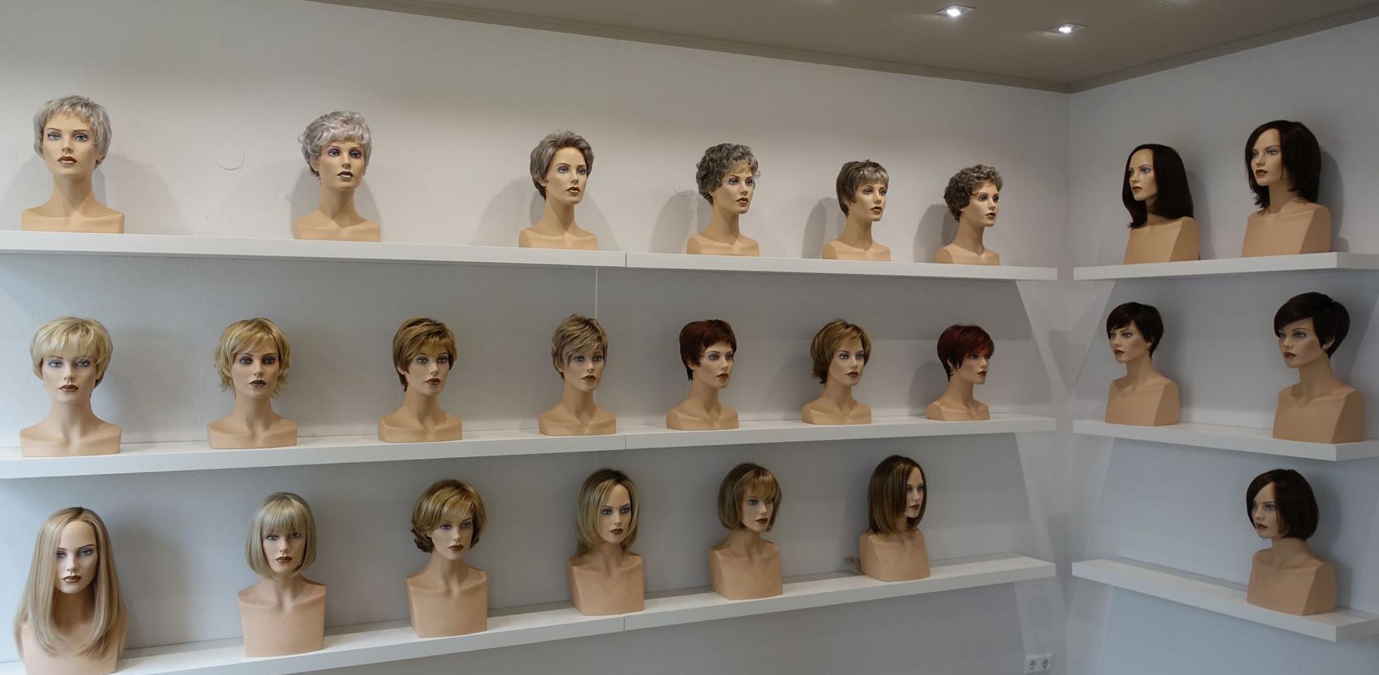 Zweithaarstudio Modelle
