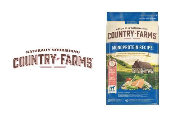 COUNTRY FARMS™ Adult Monoprotein karma bogata w Łososia