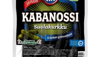 Kabanossu suolakurkulla
