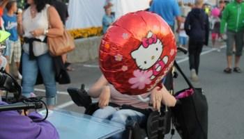Maijun Hello Kitty heliumpallo.