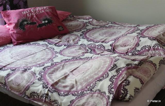 Kauniit pussilakanat ja tyynyliinat