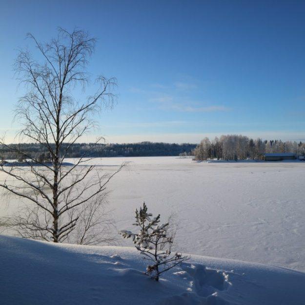 Luminen Saimaa.