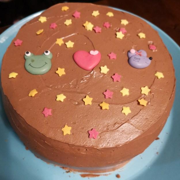 Upea kakku.