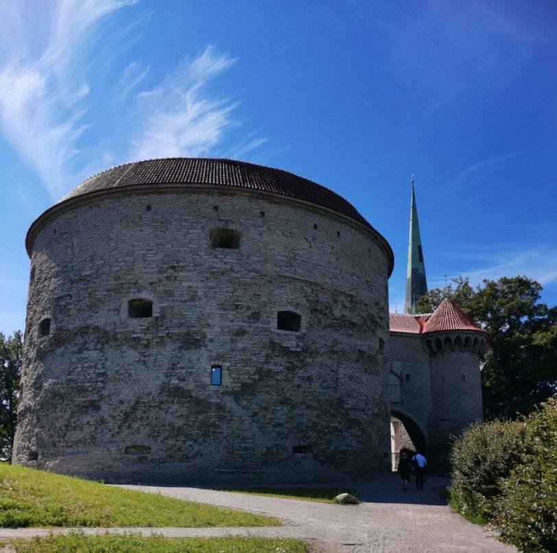Paksu Margareeta -tykkitornissa Tallinnan Vanhassakaupungissa.
