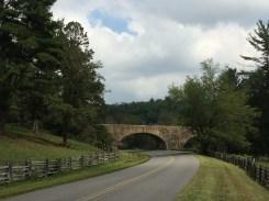 WPA bridge on the Blue Ridge Parkway